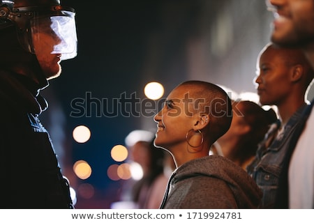 Police And Community Stock photo © Lightsource