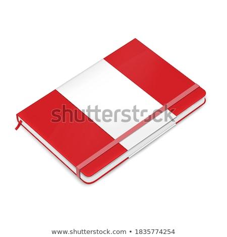 Blank notebook with elastic band closure mockup Stock photo © montego