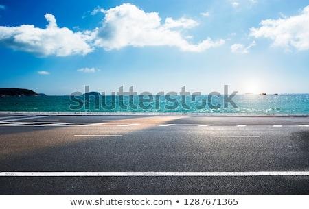 Beach road Stock photo © ribeiroantonio