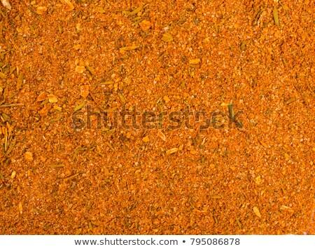 Baharat doku sarı ot yalıtılmış Stok fotoğraf © FOKA