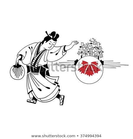 ベクトル · 中国語 · 伝統的な · 芸術的 · 仏教 · パターン - ストックフォト © sahua