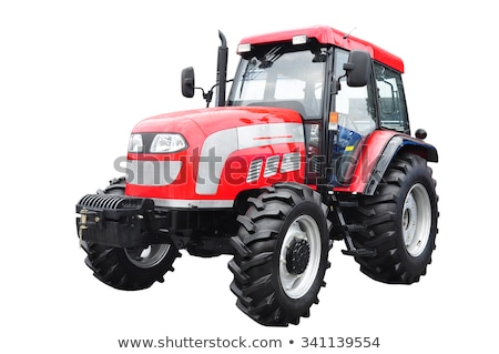 Isolated Tractor Truck Stock photo © SimpleFoto