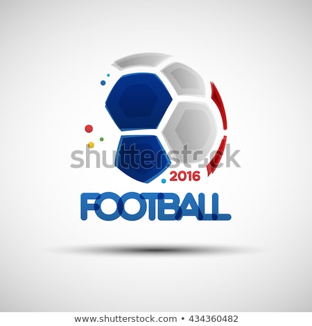 French Soccer Ball Stock photo © bestmoose