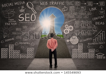 Chalkboard - Internet Marketing Stock photo © kbuntu