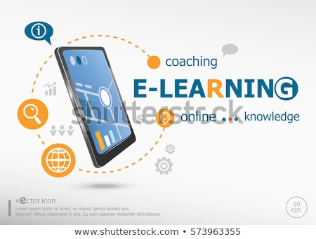 E-learning text conception  Stock photo © deyangeorgiev