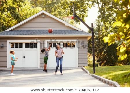 black woman playing basketball stock photo © piedmontphoto