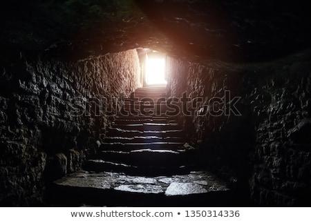 Subterrâneo corredor pequeno República Checa luz Foto stock © searagen