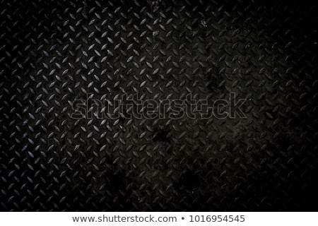 öreg fém gyémánt tányér barna szín Stock fotó © cla78