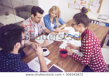 Small group of executives Stock photo © photography33