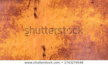 Orange Grunge Wall Stock photo © jeayesy