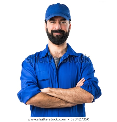 Handyman with his arms crossed Stock photo © photography33