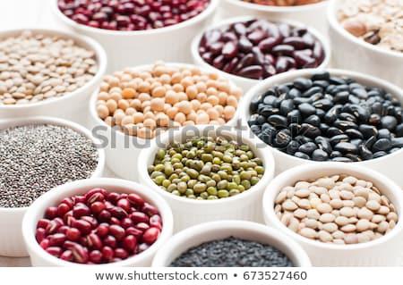 бобов жадность рынке продовольствие приготовления Сток-фото © pumujcl
