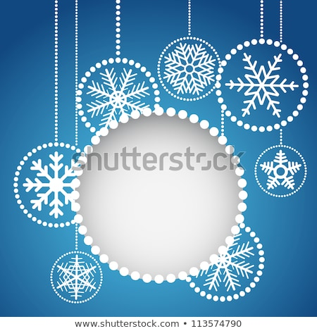ベクトル クリスマス 現実的な 安物の宝石 2013 赤 ストックフォト © orson