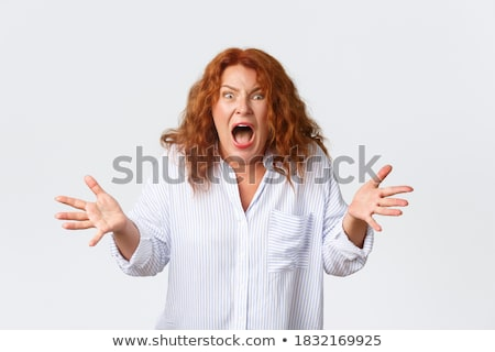 Woman entrepreneur grimacing Stock photo © photography33