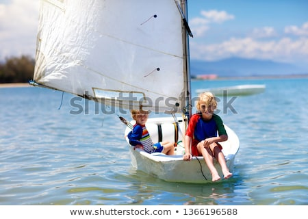 little boy with boat Stock photo © photography33