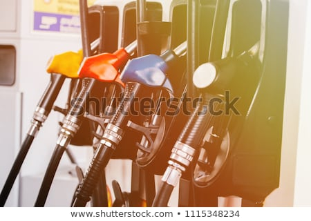 Close-up of hoses in a service station Stock photo © dashapetrenko