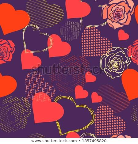 textúra · szín · tapéta · rózsaszín · papír · fal - stock fotó © compuinfoto