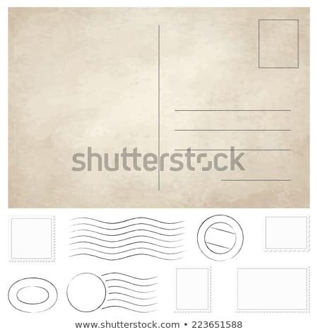 Souvenir Post Card Stock photo © Gordo25