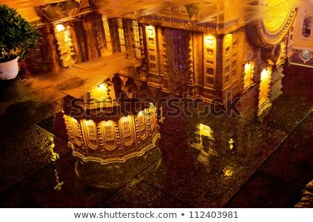Szent Szófia orosz templom tükröződés Kína Stock fotó © billperry