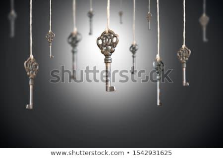 право · ключевые · изображение · стороны · старые - Сток-фото © stocksnapper