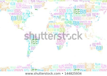 приоритет · карта · важность · Мир · всемирный - Сток-фото © wavebreak_media