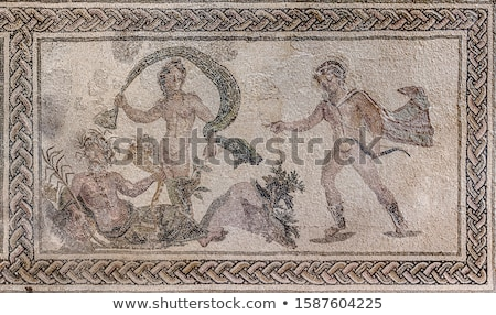 Apollo Roman mosaic  Stock photo © Snapshot