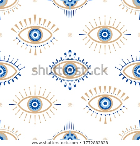 悪 眼 マクロ 写真 孤立した 白 ストックフォト © magraphics