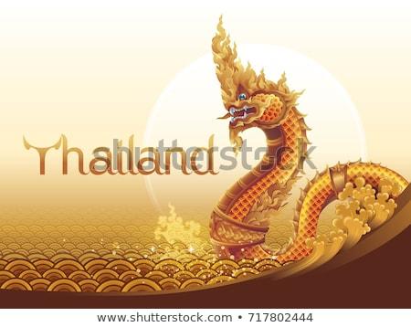 Thailand sky serpent. Stock photo © scenery1