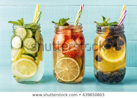 Homemade summer drink  Stock photo © tannjuska