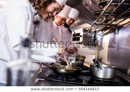 Smiling Chef stock photo © sonofpromise