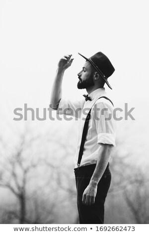 ocidente · jovem · vaqueiro · homens - foto stock © pxhidalgo