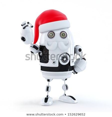 Androide robot signo tecnología Foto stock © Kirill_M