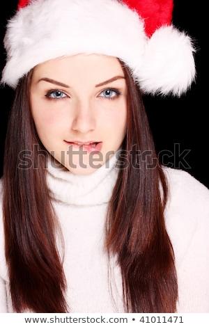 кокетливый девушки портрет великолепный Sexy Girl Сток-фото © photosebia