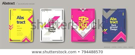 abstract · pijlen · ontwerp · oranje · teken · industrie - stockfoto © digitalmojito