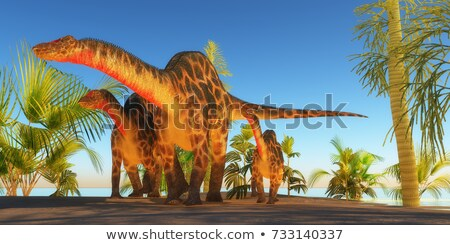 dicraeosaurus dinosaur Stock photo © mariephoto