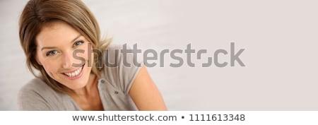 Female face above Stock photo © milsiart