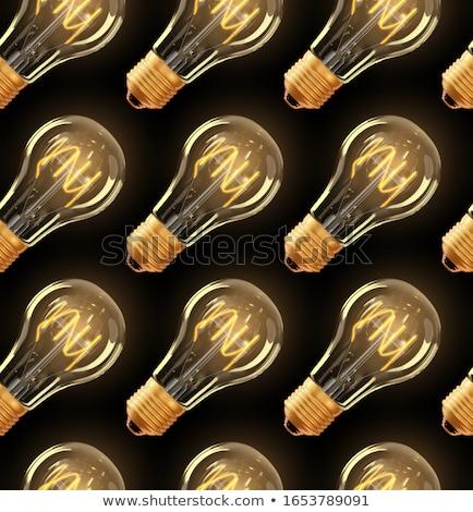 Light  incandescent lamp Stock photo © Viva