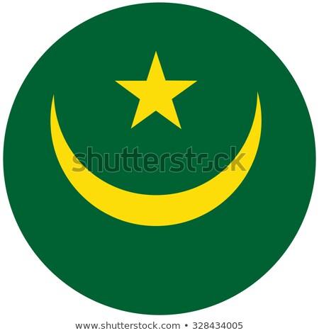 Mauritania Flag icon. Stock photo © zeffss