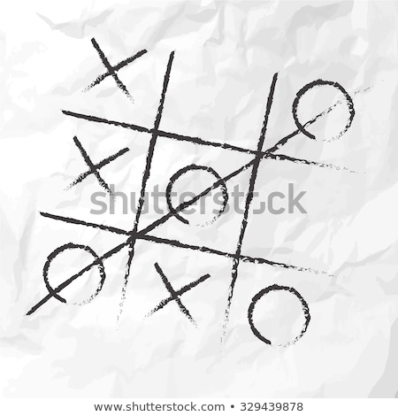 Think Outside The Box Tic Tac Toe Concept Stock photo © ivelin