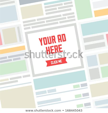 place your ads here stock photo © stockyimages
