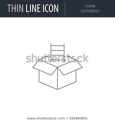 Emberek ikonok gondolkodik különböző ötlet terv Stock fotó © kiddaikiddee