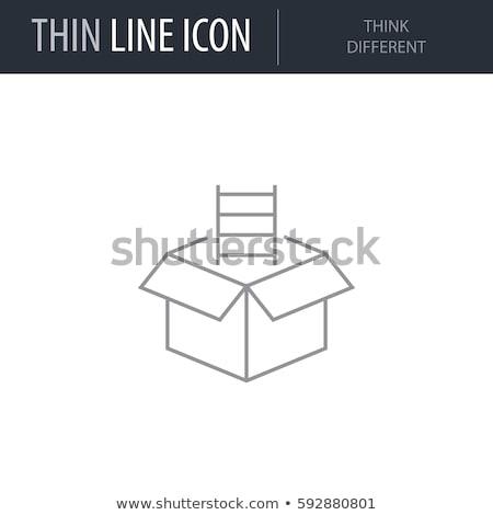 people icons think different idea design Stock photo © kiddaikiddee