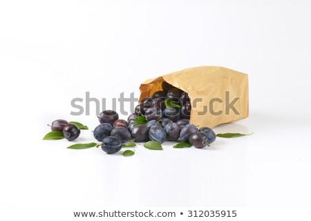 plum in the bag Stock photo © Peredniankina