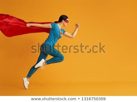 Colorful Superhero Women Stock photo © Kakigori
