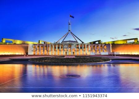 Canberra Austrália arquitetura cidade natureza Foto stock © benkrut
