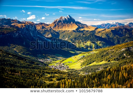 Passo Pordoi in Dolomites (Alps), Italy Stock photo © fisfra