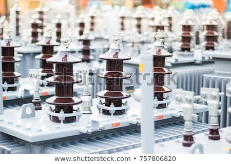 Electrical power transformer  Stock photo © hin255