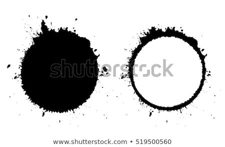 ink splat round Stock photo © nicemonkey