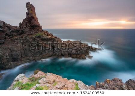 égbolt · tenger · kő · szabadság · béke · szirt - stock fotó © Dserra1