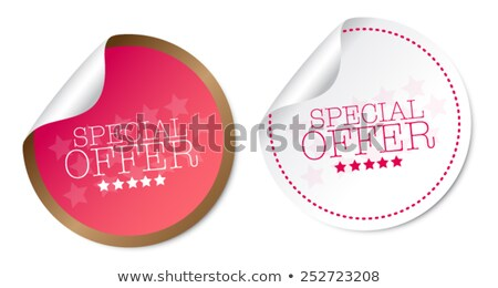 Summer Offers Gold Vector Icon Button Stock photo © rizwanali3d